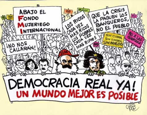 ¡Ole por la España indignada!