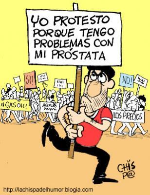 "Protestas por todo, ""around the world"""