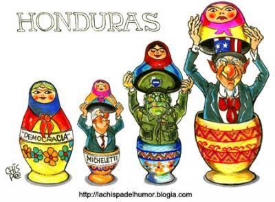 Honduras y las matriuskas