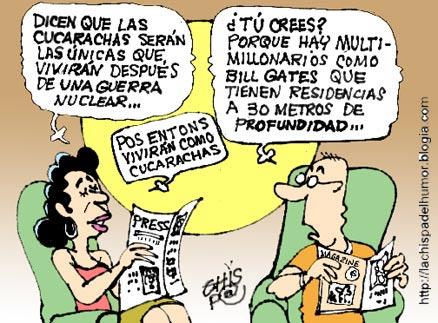 """Las """"cucas"""" privilegiadas"""