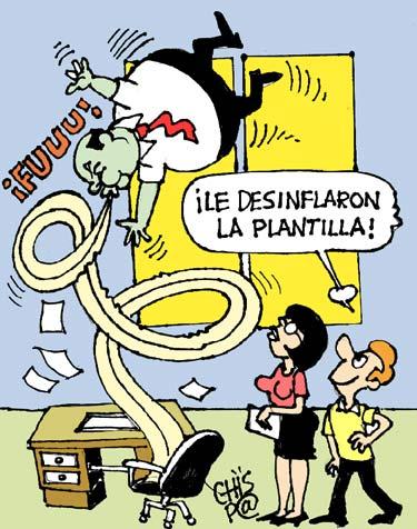 """Las plantillas """"infladas"""""""